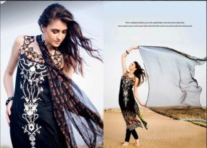 Five Star Vogue Eid Collection 2011 28 300x215 - FIVE STAR VOGUE embroidered silk Eid collection 2011