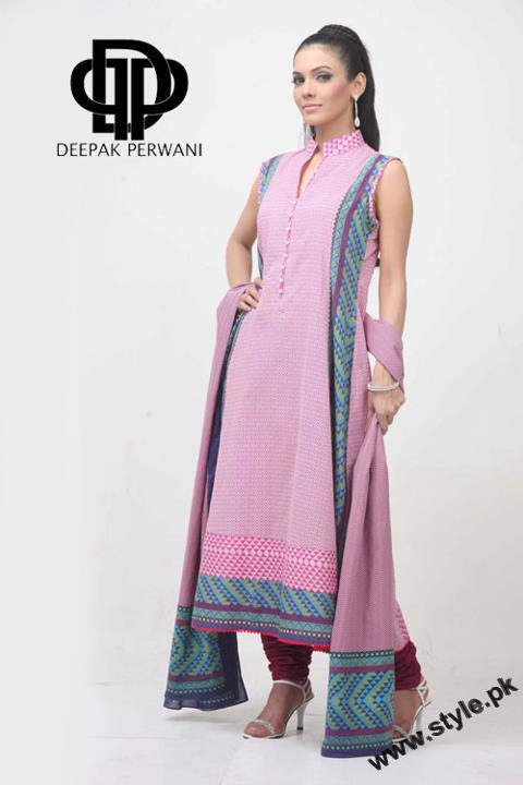 Mid Summer Lawn Eid Collection For Women 2011 By Deepek Perwani 2 style.pk