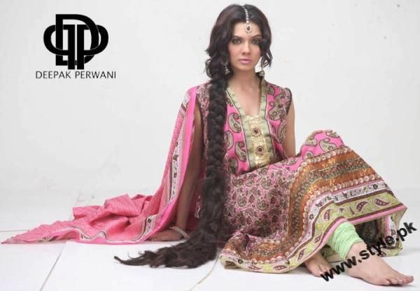 Mid Summer Lawn Eid Collection For Women 2011 By Deepek Perwani 4 style.pk