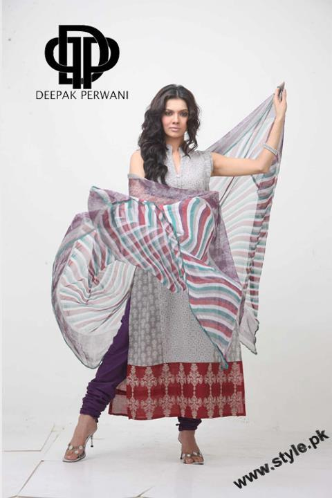 Mid Summer Lawn Eid Collection For Women 2011 By Deepek Perwani 5 style.pk