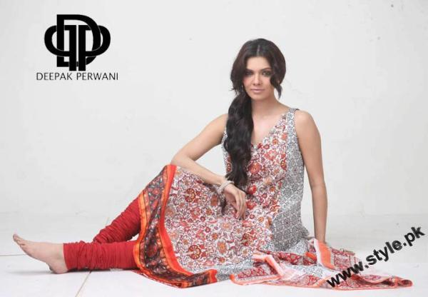 Mid Summer Lawn Eid Collection For Women 2011 By Deepek Perwani 8 style.pk