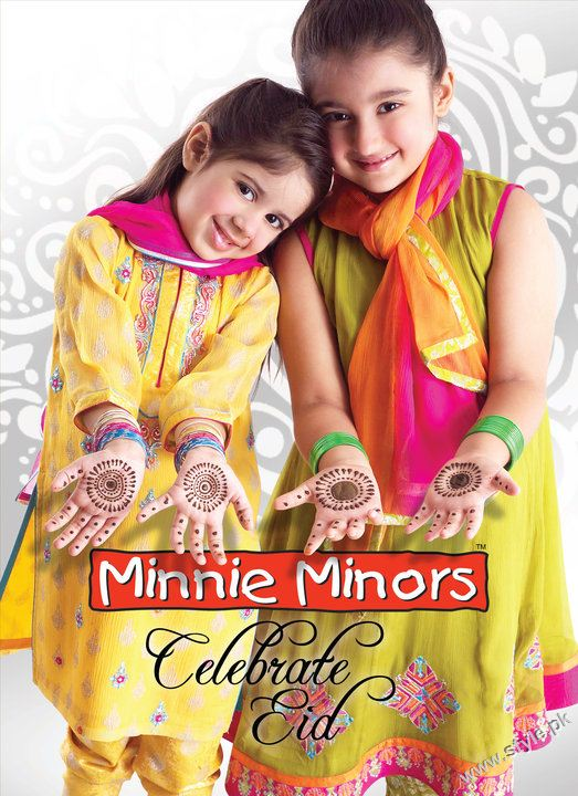 Minnie Minors eid collection 8723 kids wear 2