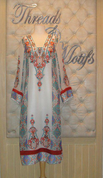 New dress designs for girls on eid 2011 by threads and motifs 264499