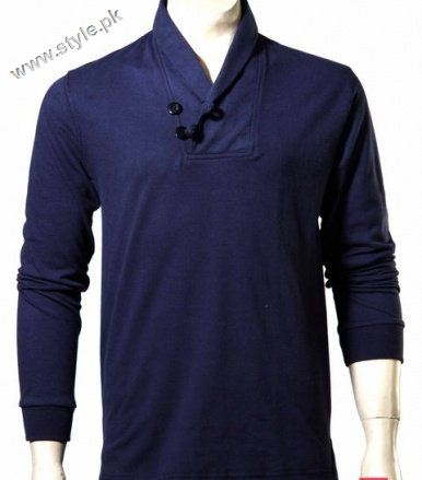 Polo blue shirt collection of Menswear by ladyline