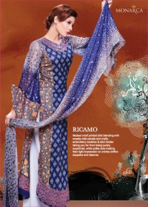 Rashid Textile Eid Collection 2011 Monarca Eid collections 2011 234 215x300
