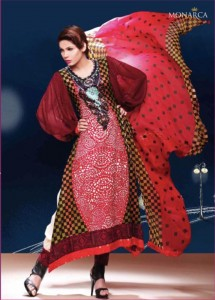 Rashid Textile Eid Collection 2011 Monarca Eid collections 2011 32 215x300 - Monarca Eid collection 2011