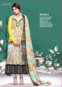 Rashid Textile Eid Collection 2011 Monarca Eid collections 2011 7 214x300 - Monarca Eid collection 2011