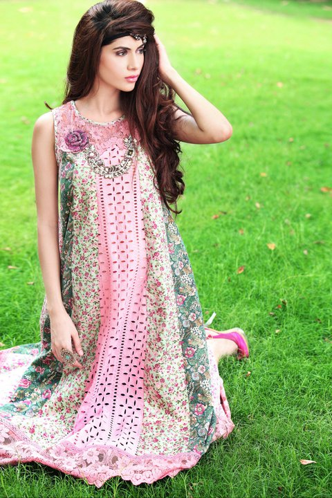 Ready to Wear Dresses for Women by Farida Hasan 001 style.pk  stylish dresses local designer clothes for women