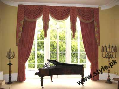 Stylish Curtain Designs 2011 2 style.pk  stylish interior designing furnitures