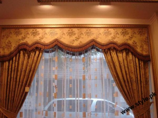 Stylish Curtain Designs 2011 5 style.pk  stylish interior designing furnitures