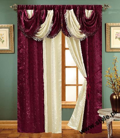 Stylish Curtain Designs 2011 8 style.pk  stylish interior designing furnitures