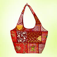 Short straps embroidered handbags