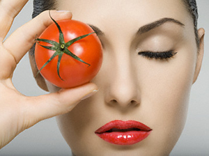 Tomato for beauty