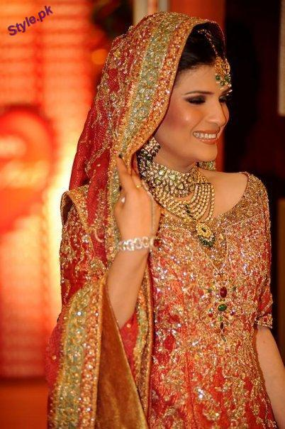 Traditional Bridal dresses for baraat