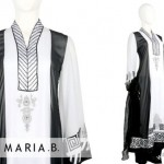 black and white dresses by Maria B 493