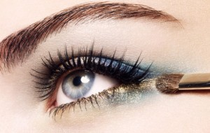 brow brush eyeshadow glitter lashes makeup Favim.com 88542 300x190