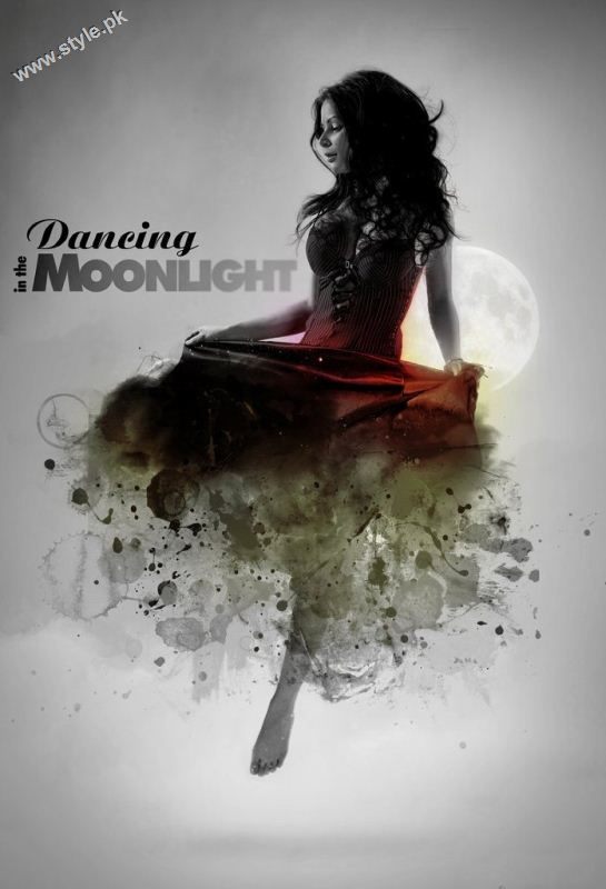 dancing in the moon light dp for girls 389