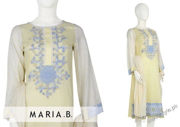 latest collection by Maria B 74 designer maria b
