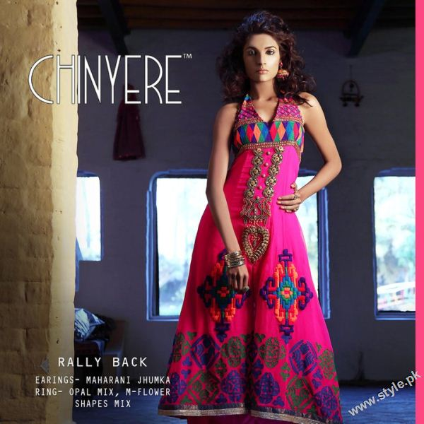stylish eid dress 03 local designer clothes for women chinyere bareeze pakistani brand bareeze pakistani brand
