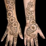 Stylish mehndi designs for Eid 2011