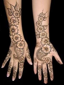 mehndi designs for girls
