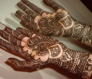 mehndi design for palm