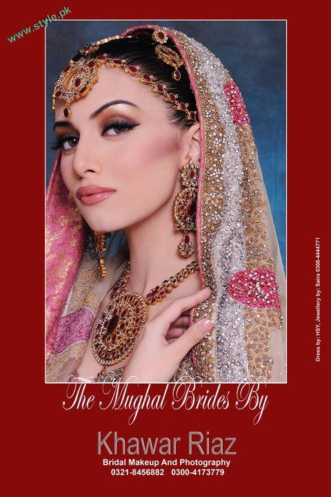 Bridal Makeover By Khawer Riaz 1 style.pk