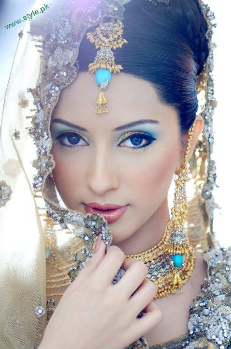 Bridal Makeover By Khawer Riaz 2 style.pk