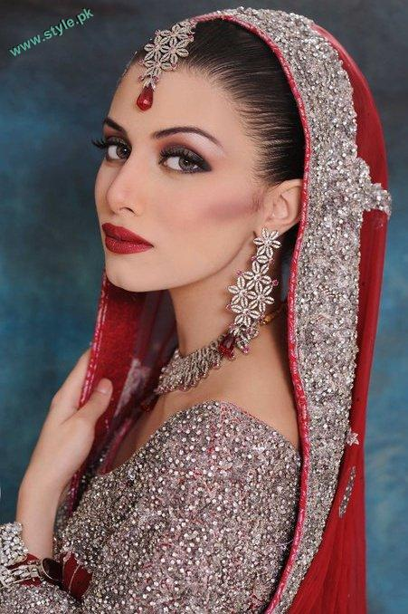 Bridal Makeover By Khawer Riaz 3 style.pk