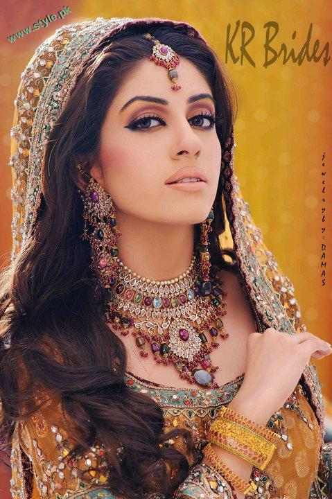 Bridal Makeover By Khawer Riaz 4 style.pk