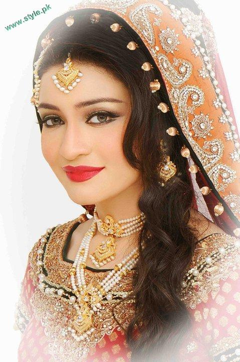 Bridal Makeover By Khawer Riaz 5 style.pk