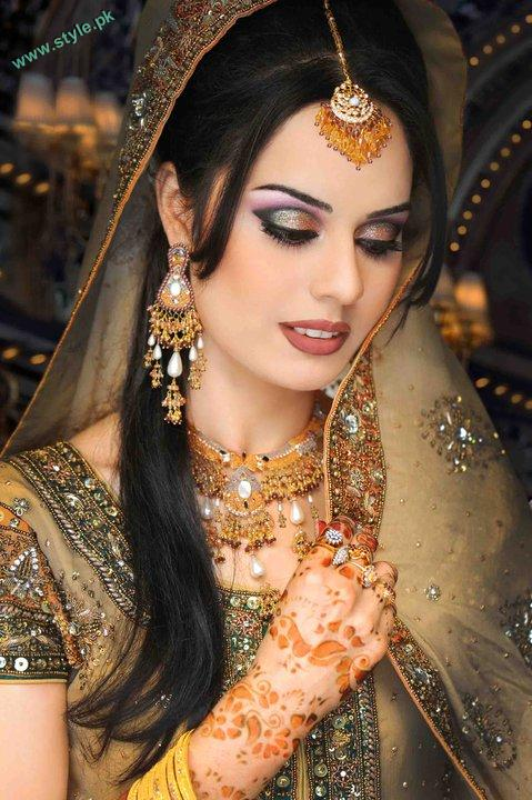 Bridal Makeover By Khawer Riaz 6 style.pk