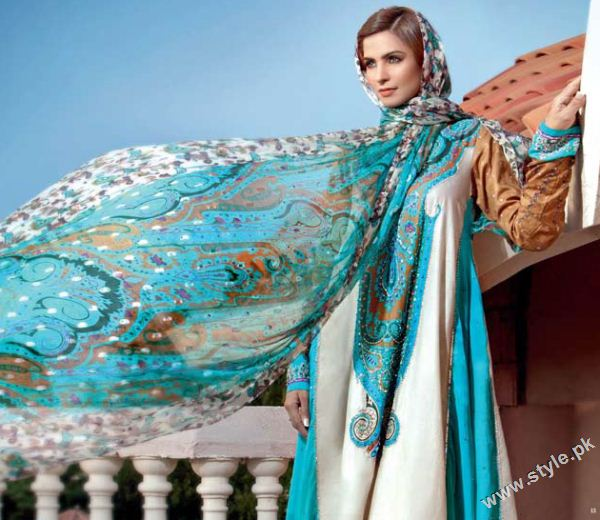 Gul Ahmed Cambric Collection 2011 www.style .pk 003 gul ahmed designer