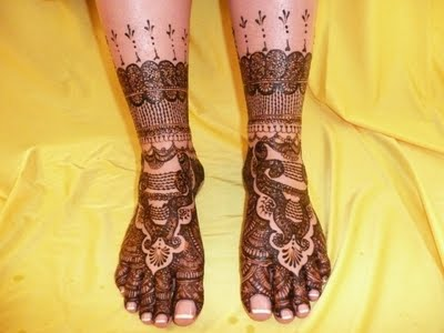 Bridal Mehndi On Foot : Hd latest bride mehndi designs for feet r wallpapers