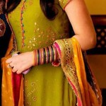 Bridal Mehndi Dresses For Bridals 2011 Collection (12)