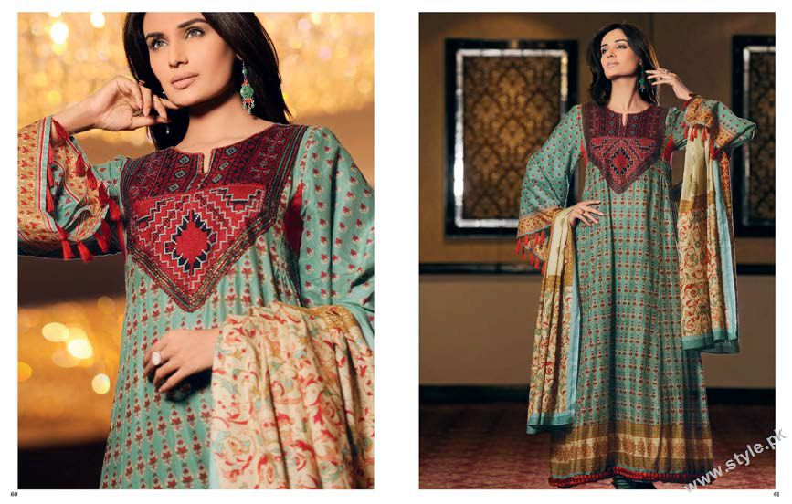 Latest Cambric Collection 2011 by Gul Ahmed www.style.pk 1
