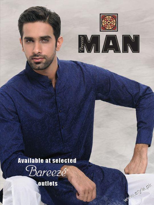 8a84620aaa Latest Collection of Men Kurta Shalwar By Bareeze Man