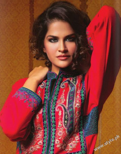Latest Embroidery Evening Wear by Chinyere style.pk 001 local designer clothes for women chinyere bareeze pakistani brand bareeze pakistani brand