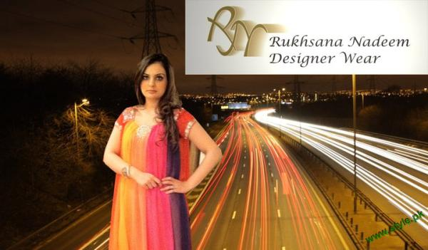Rukhsana nadeem designer white dress of pk