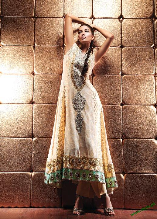 Latest Party Wears Collection 2011 By Waseem Noor 3 style.pk