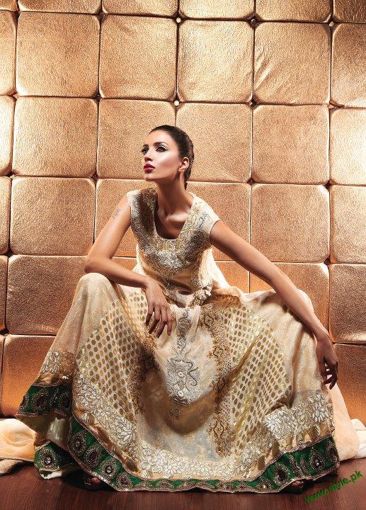 Latest Party Wears Collection 2011 By Waseem Noor 6 style.pk