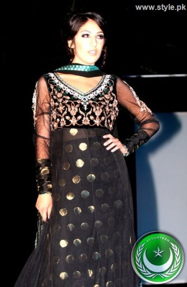 Latest party wear by Maham Fashion collection 2011 www.style.pk 001