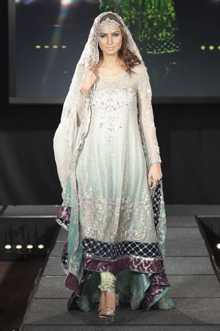 Maria B Dresses at Pakistan Fashion Extravaganza London 2011 style.pk 001 shows designer maria b