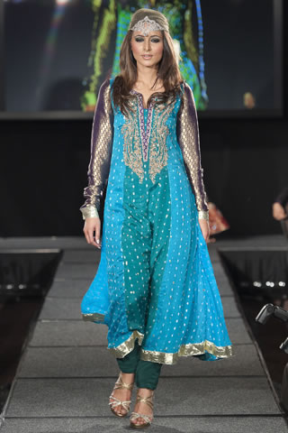 Maria B Dresses at Pakistan Fashion Extravaganza London 2011 style.pk 002 shows designer maria b