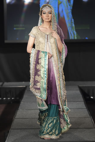 Maria B Dresses at Pakistan Fashion Extravaganza London 2011 style.pk 008 shows designer maria b