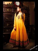 Bridal Mehndi Dresses For Bridals 2011 Collection (8)