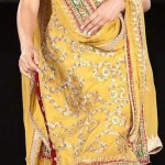 Bridal Mehndi Dresses For Bridals 2011 Collection (7)
