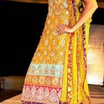 Bridal Mehndi Dresses For Bridals 2011 Collection (4)