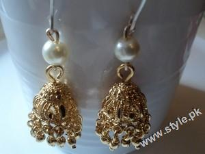 Traditional jhumkas for brides 2011 001 style.pk