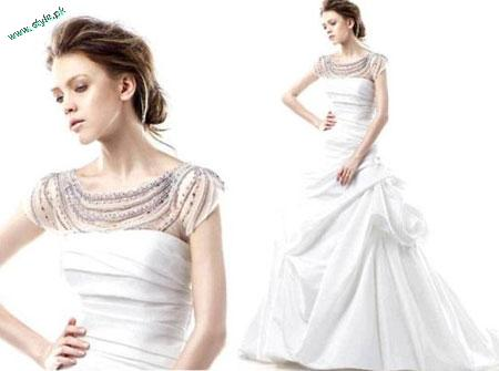 Wedding Dress White Gown For Western Brides 2011 5 stylepk